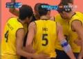 奥运视频-索萨跃起前排拦网得分 巴西VS俄罗斯