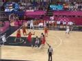 奥运视频-威少突破跳投得手 男篮美国VS西班牙