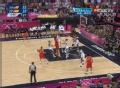 奥运视频-加索尔演完美中投 男篮美国VS西班牙
