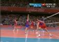 奥运视频-穆塞尔斯基穿越拦网 巴西VS俄罗斯