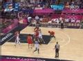 奥运视频-詹皇突破双手暴扣 男篮美国VS西班牙