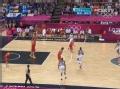 奥运视频-德隆面筐注入三分 男篮美国VS西班牙