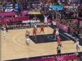 奥运视频-保罗右翼三分命中 男篮美国VS西班牙