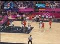 奥运视频-加索尔远距离勾手 男篮美国VS西班牙