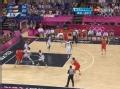 奥运视频-加索尔秀转身挑篮 男篮美国VS西班牙