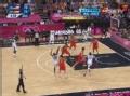 奥运视频-科比转身干拔三分 男篮美国VS西班牙