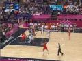 奥运视频-加索尔内线背传 钱德勒接妙传秀抛投