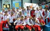 奥运图:男子水球克罗地亚夺冠 金牌获得者