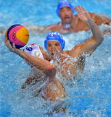 奥运图:男子水球克罗地亚夺冠 水球比赛