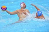奥运图:男子水球克罗地亚夺冠 水上进攻