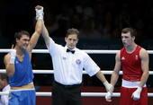 奥运会:皮耶夫男拳击69kg夺冠 萨皮耶夫获胜