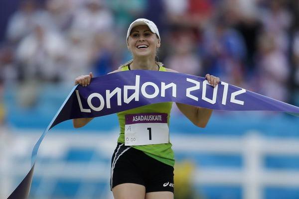 奥运图:伦敦奥运最后一战 夺冠瞬间