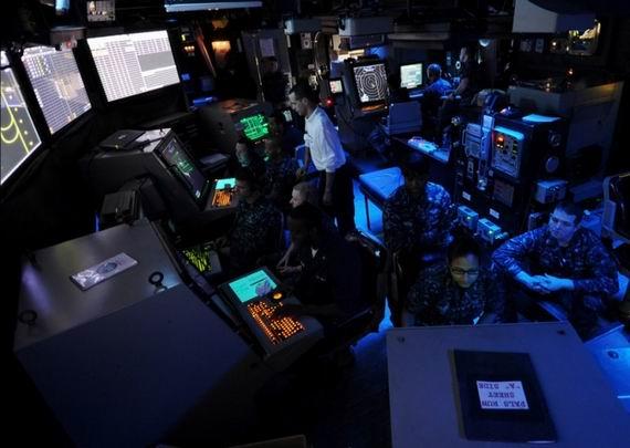 目前来看,全世界也只有美军有本钱打大规模空海一体战。