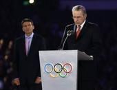 奥运图:各国政要现身闭幕式 罗格讲话