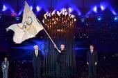 奥运图:各国政要现身闭幕式 罗格