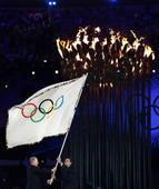 奥运图:各国政要现身闭幕式 罗格旗交里约市长