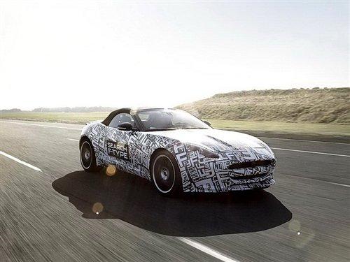 捷豹确认为F-Type装配5.0升V8发动机
