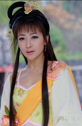 陈紫涵古装手绘美图