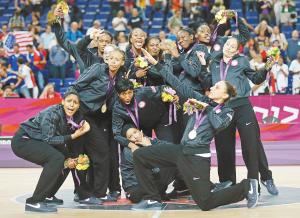 美国女篮实现奥运会5连冠 IC 图