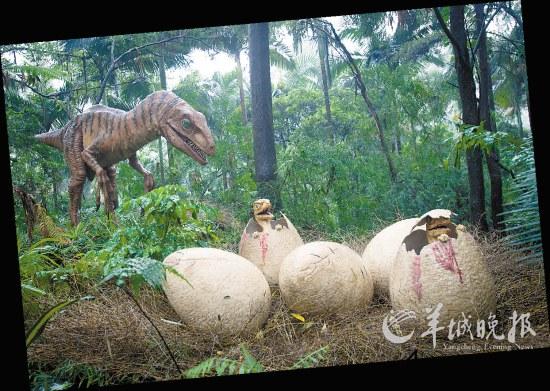 """香江野生动物世界:""""马达加斯加岛""""的节尾狐猴(景区供图)"""