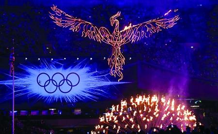 2012年伦敦奥运会昨日闭幕 本组图片 IC 图