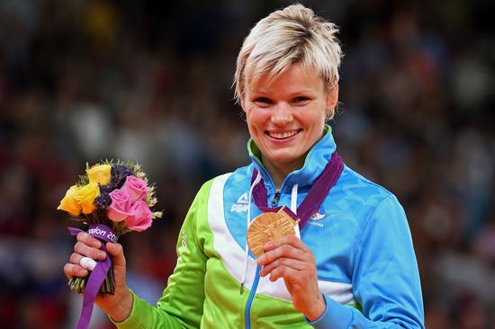 乌斯卡·佐尔娜为斯洛文尼亚夺得了该国的奥运首金。