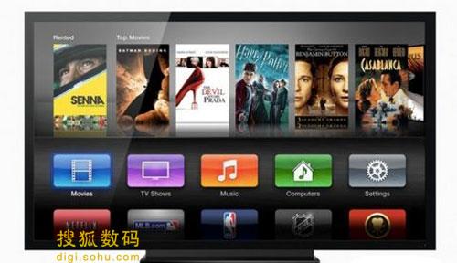 Apple TV的媒体点播功能需要花钱,而且对地区有限制