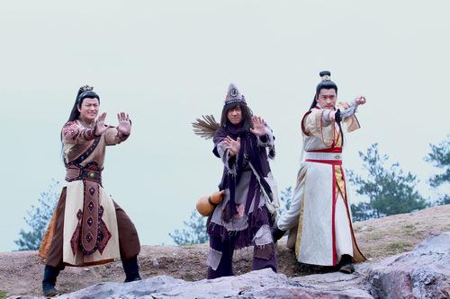 神仙招数宛如六脉神剑图片