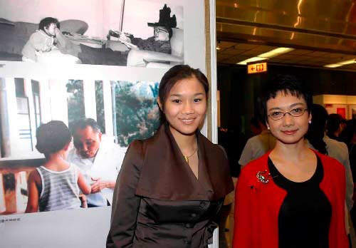 卓玥 邓楠/卓玥(左)和妹妹棉棉(邓楠的女儿)(资料图)
