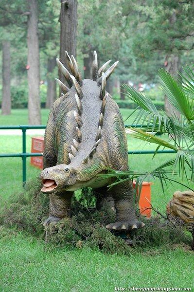 最后一次恐龙展 感谢搜狐网友 辰妈的博客 提供图片
