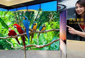 自发光、高画质、超轻薄的OLED电视机