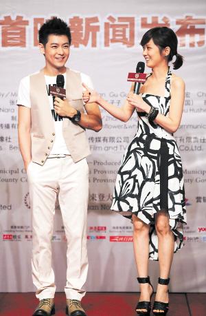 张娜拉称与林志颖拍吻戏很幸福(图)