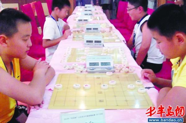 2012年山东省少年象棋锦标赛竞赛规程;图片