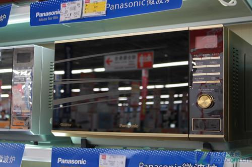 变频蒸烤全能 松下微波炉售价1399元