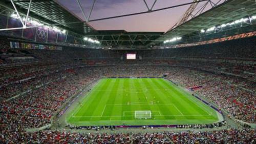 伦敦奥运足球比赛全景