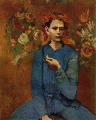 毕加索油画《拿烟斗的男孩》,2004年苏富比拍卖1.04亿美元成交