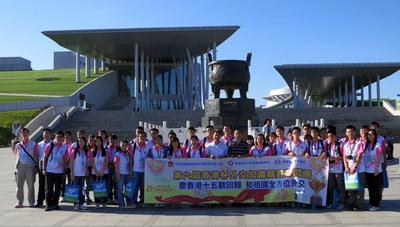 在内蒙古博物院前留影