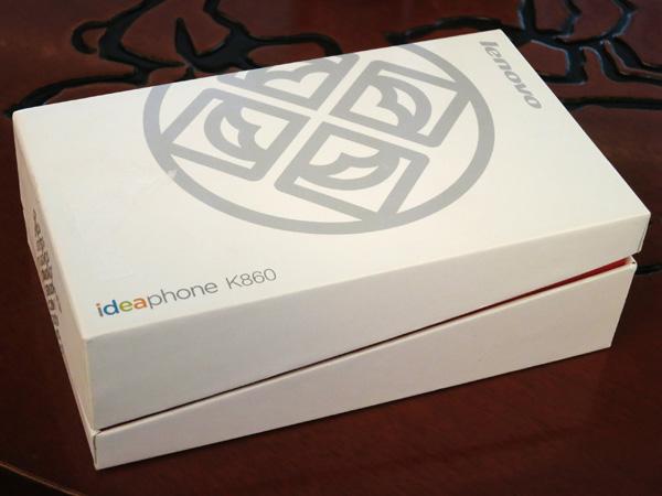 联想四核乐Phone K860