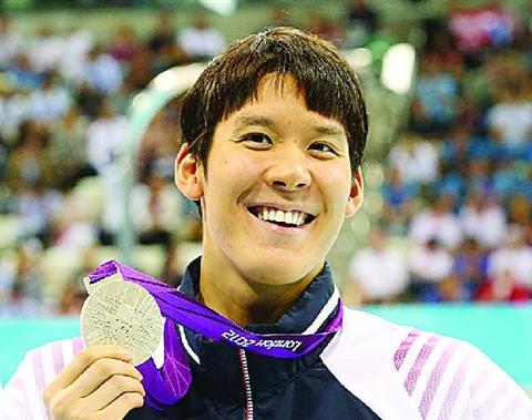 朴泰桓获颁赝品银牌