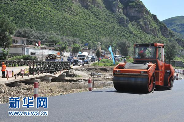 """北京""""721""""强降雨中受损公路从""""抢修保畅""""转入""""恢复重建""""阶段"""