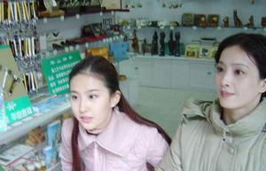 刘亦菲和母亲