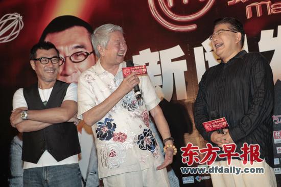美食》的录制,厨师的同时节目李宗盛(左)和曹可凡(右)评委亮相发布.广锦江大酒店美食李沧业图片