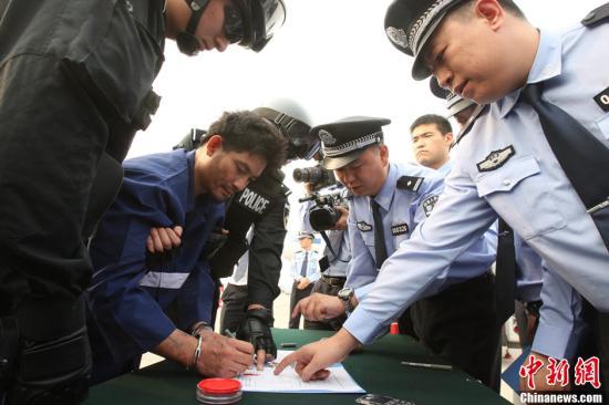 缅甸军警联合工作组来华提审金三角毒贩糯康等