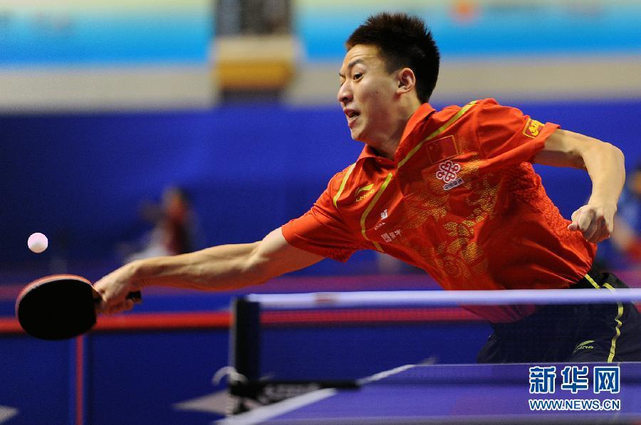 当日,中国乒乓球公开赛在江苏省苏州市体育中心拉开篮球,中国选手方博松松战幕图片
