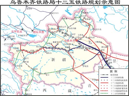 随着新疆铁路相继建成并投入运营