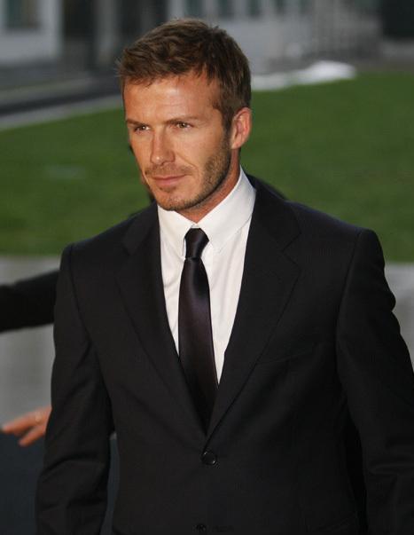 冠军 大卫·贝克汉姆David Beckham:英国足球运动员,现年37岁. -