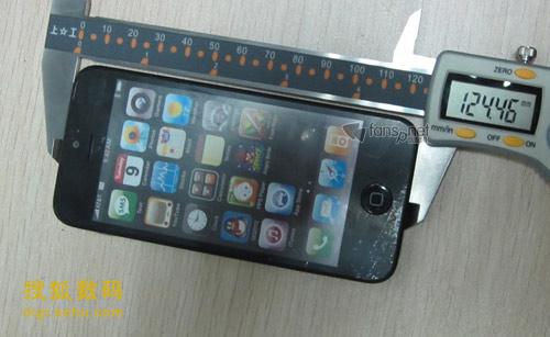 iPhone 5机模照