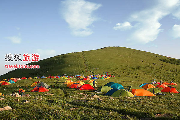石京龙帐篷公园
