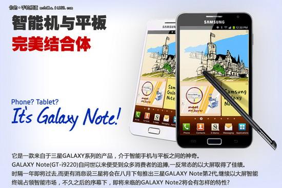 5.5寸+四核 三星Galaxy Note 2参数解析