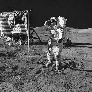 别了,第一个登上月球的人 组图